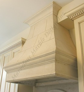 limestone range hood